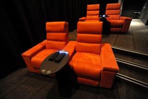 luxe bioscoop business stoel